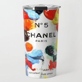 No 5 Colors Travel Mug