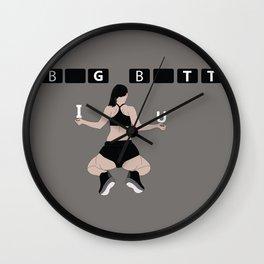 Big butt Wall Clock