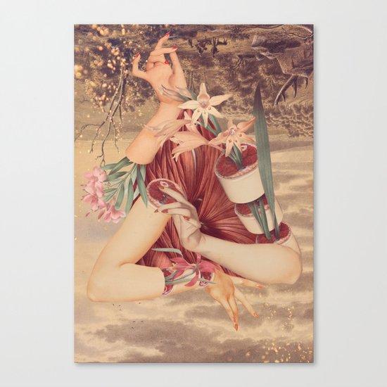 Cradle *collage Canvas Print