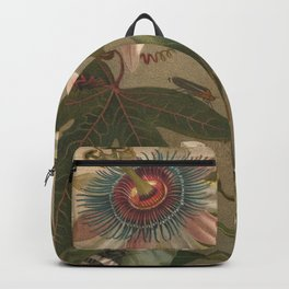 Antique Cicada Lithograph Backpack