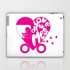 Love Drives Me Laptop & iPad Skin