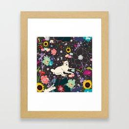 Momo Wonderland Framed Art Print