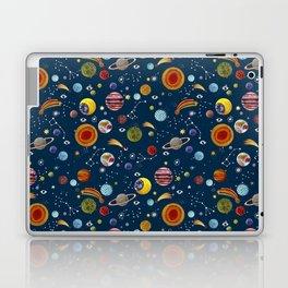 Interplanetary space pattern. Laptop & iPad Skin