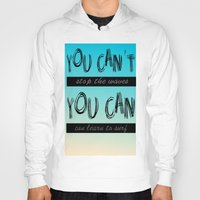 motivation Hoodies featuring Surf Motivation by Goretti