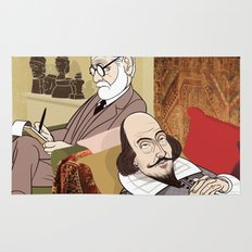 Freud analysing Shakespeare Rug