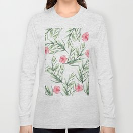 Delicate Hibiscus Long Sleeve T-shirt