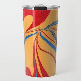 Primary Marble Painting Travel Mug