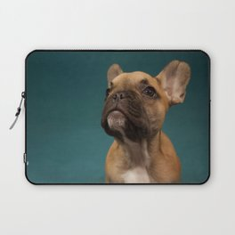 French bulldog portrait Laptop Sleeve