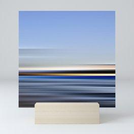 horizonte amarillo - seascape no.13 Mini Art Print