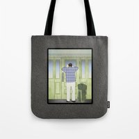 military Tote Bags featuring Military Homecoming by Aquamarine Studio