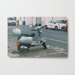 Motorcycle. Metal Print