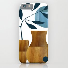 Vases and blue moon iPhone Case