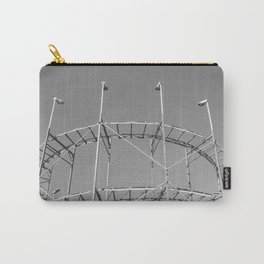 Vintage Rollercoaster Montevideo Carry-All Pouch