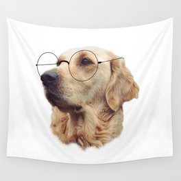 Nerd Doggo Wall Tapestry