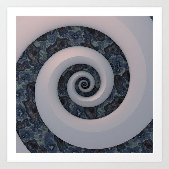 Curl & Swirl Art Print