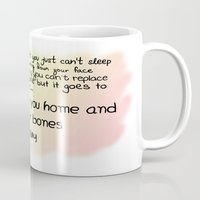 quotes Mugs featuring quotes by kawaiicookie