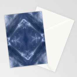 Indigo Diamond Stationery Cards