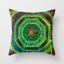 Sacred Sigil Of Archangel Raphael Throw Pillow