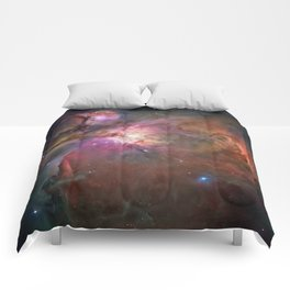 Orion Nebula M42, NGC 19 (High Quality) Comforters