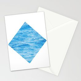 Water Tile Stationery Cards