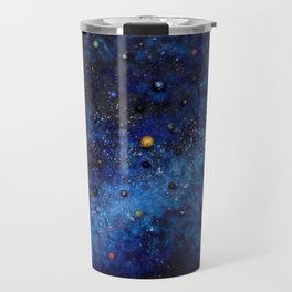 Space universe galaxy I am Here awakening Travel Mug