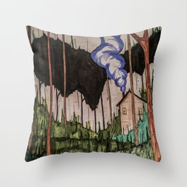 The Hidden Home Throw Pillow