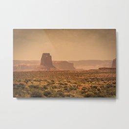 Desert Warmth Metal Print