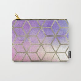 Pixie dust geometric watercolor Carry-All Pouch