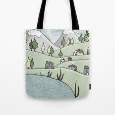 Lakeside Village Tote Bag