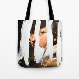 Untitled (Finger Paint 2) Tote Bag