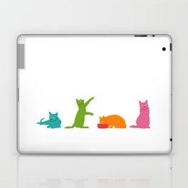 Cats Multicolor Laptop & iPad Skin