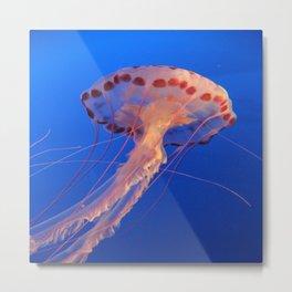 Parachute Of The Medusa Metal Print