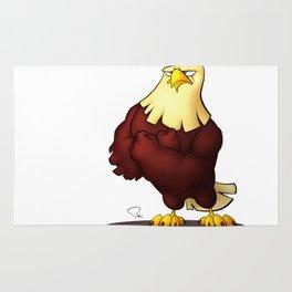 My Digital Zoo - Bald Eagle Rug