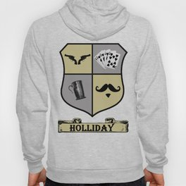 Doc Holliday Coat of Arms Hoody