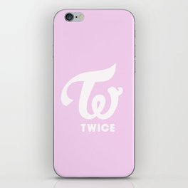 Twice logo iPhone Skin