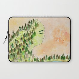 Lady of the Mountain Laptop Sleeve