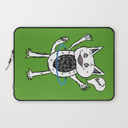 Monster Hula Hoop Laptop Sleeve