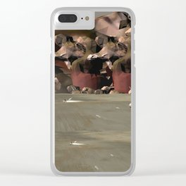 S00021FB Clear iPhone Case