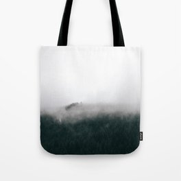 Forest Fog XV Tote Bag