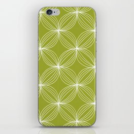 Star Pods - Green iPhone Skin