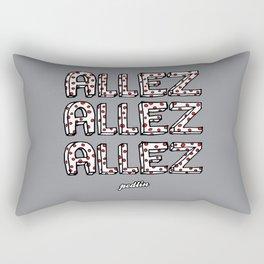 Allez Allez Allez Rectangular Pillow