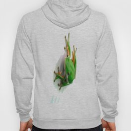 Green Tree Frog Hoody
