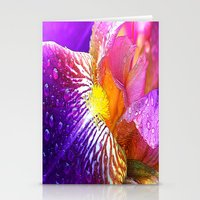 iris Stationery Cards featuring Iris by Robin Curtiss