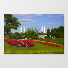 Battersea Power Station and Battersea Park Canvas Print