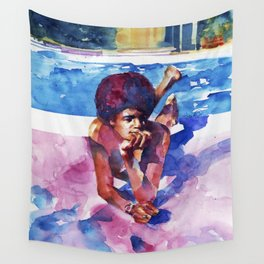 Pool Side Wall Tapestry