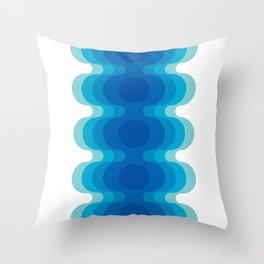 Echoes - Ocean Throw Pillow