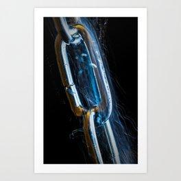 Electric Fence Art Print