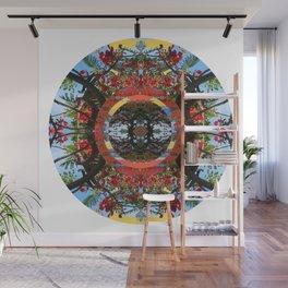 Flamboyant Mandala Wall Mural