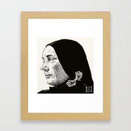 Little Edie 2 Framed Art Print