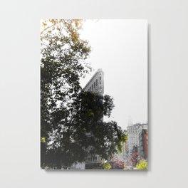 Flatiron Autumn Metal Print